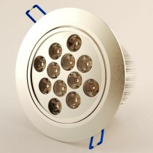 Led Downlight spot 12W 4500K 60° dimbaar