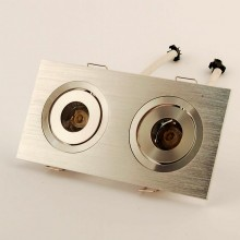 Led Downlight spot 2x3W 4500K 45°