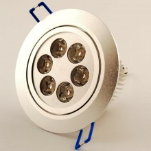 Led Downlight spot 6W 2700K 30° dimbaar