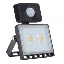 10W LED Bouwlamp Warm Wit met Bewegingssensor