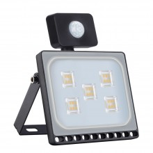 30W LED Bouwlamp Warm Wit met Bewegingssensor