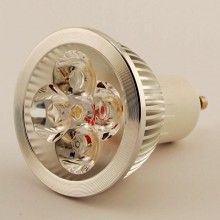 Led Spot GU10 MR16 4x1W 4500K 30°