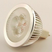 Led Spot GU5.3 MR16 3x1W 4000K 45°